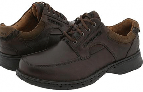 Clarks comfort shoes at Elio`s