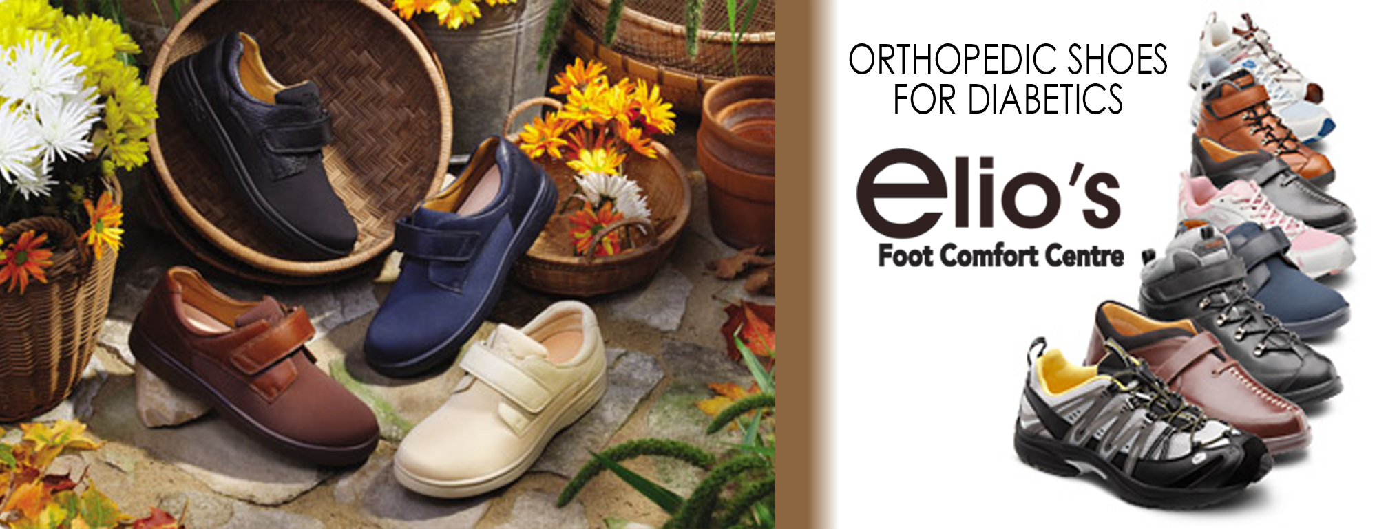 Diabetic Footwear Elio's Foot Comfort