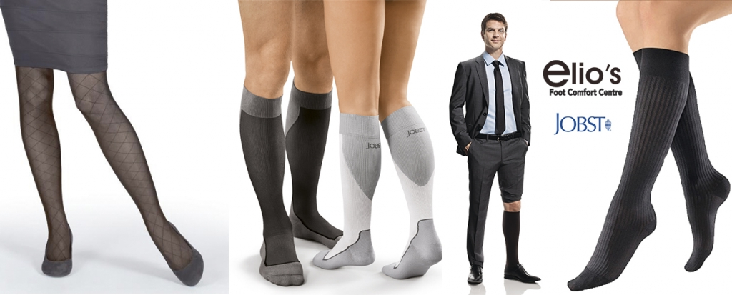 Compression stockings Niagara at Elio`s Foot Comfort Centre