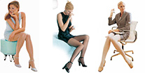 Jobst Ultra Sheer compression stockings with many styles to choose at Elio's Foot Comfort Centre