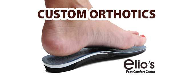 custom orthotics Niagara Elio's