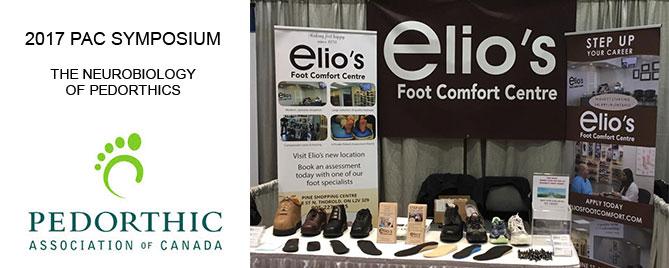 PAC Symposium - Canadian Certified Pedorthists Elios