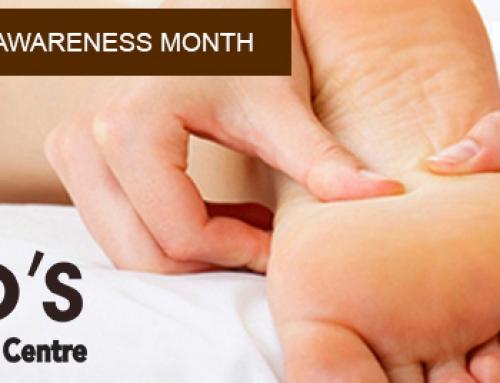 Elio's Promotes Niagara Foot Health Awareness Month