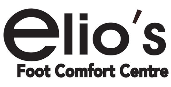 Elio's Foot Comfort Centre Sticky Logo