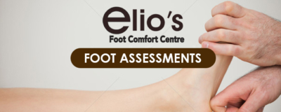 foot assessment Elio's Foot Comfort Centre