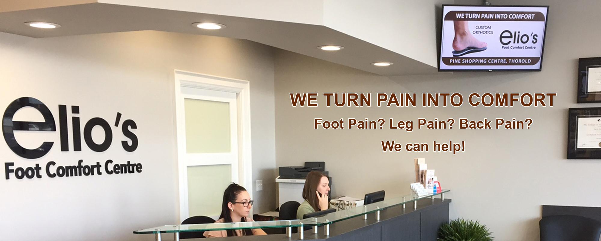 Elio's Foot Comfort Centre | Niagara foot care