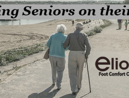 Keeping Seniors Feet Healthy | Walking