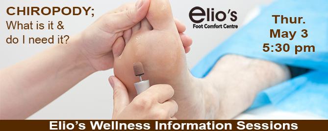 chiropody Elios Wellness Series blog