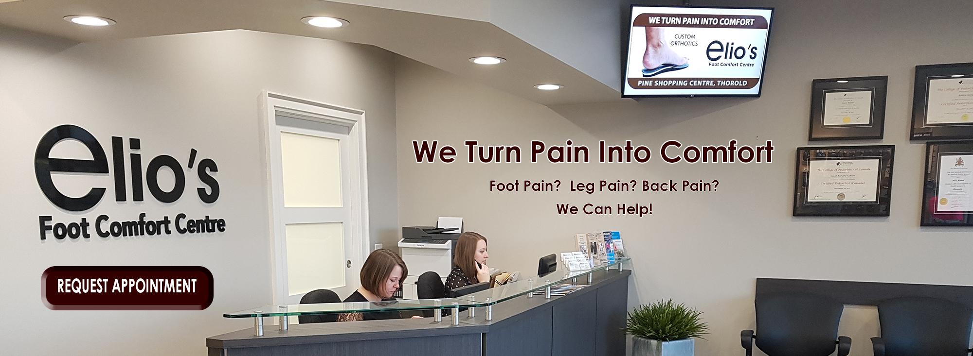 orthotics | compression | bracing | custom shoes | orthopedic footwear | Elio's Foot Comfort Centre