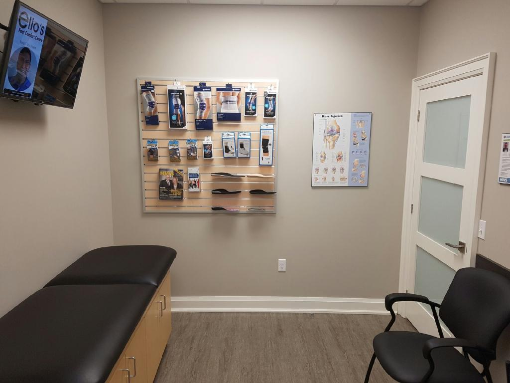 Assessment Room Elios Foot Comfort Centre