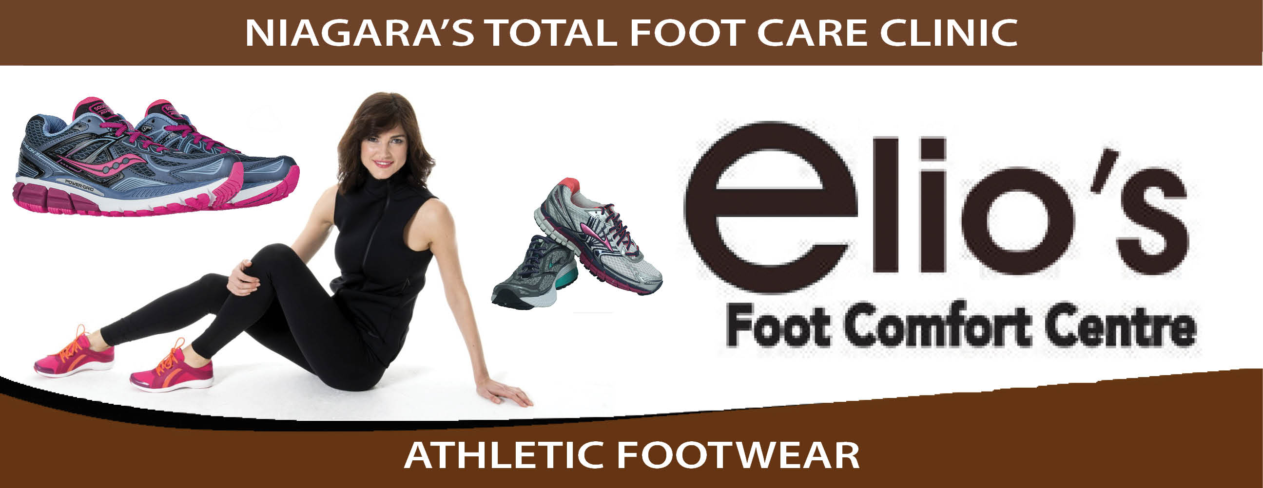 Athletic Shoes - Elio's Foot Comfort