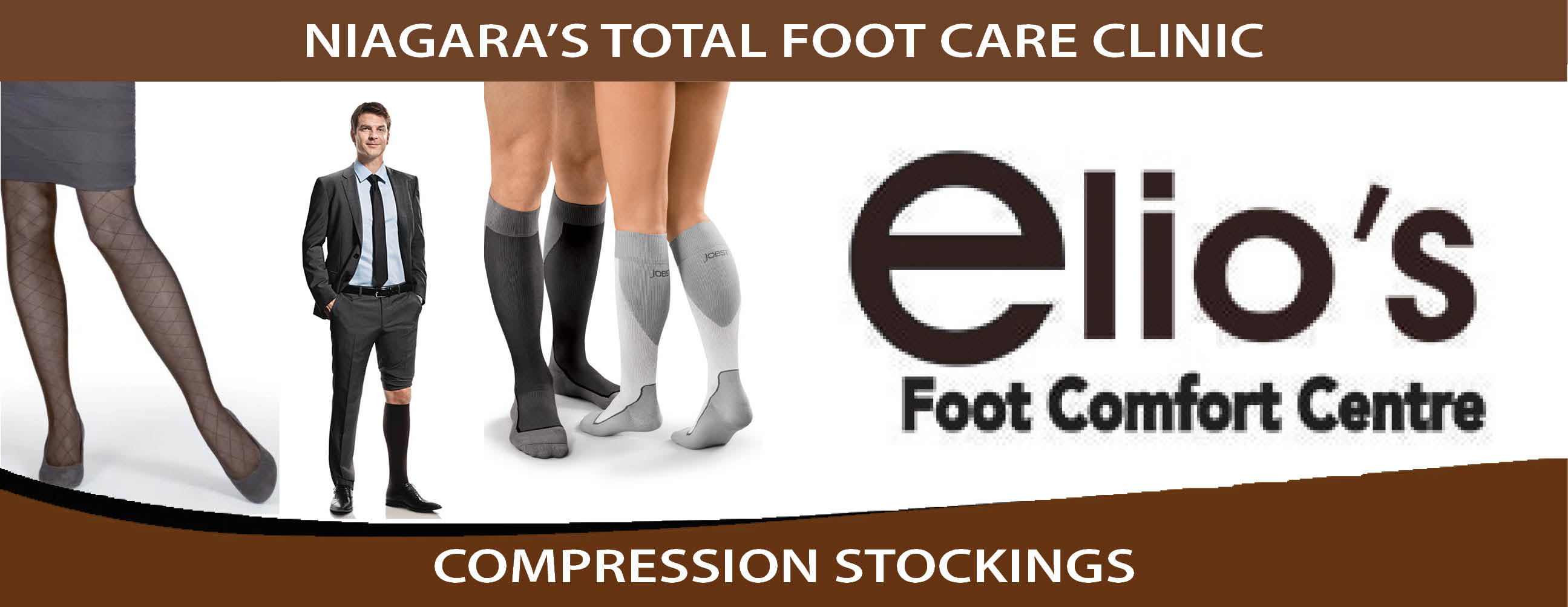 Compression Socks - Elio's Foot Comfort