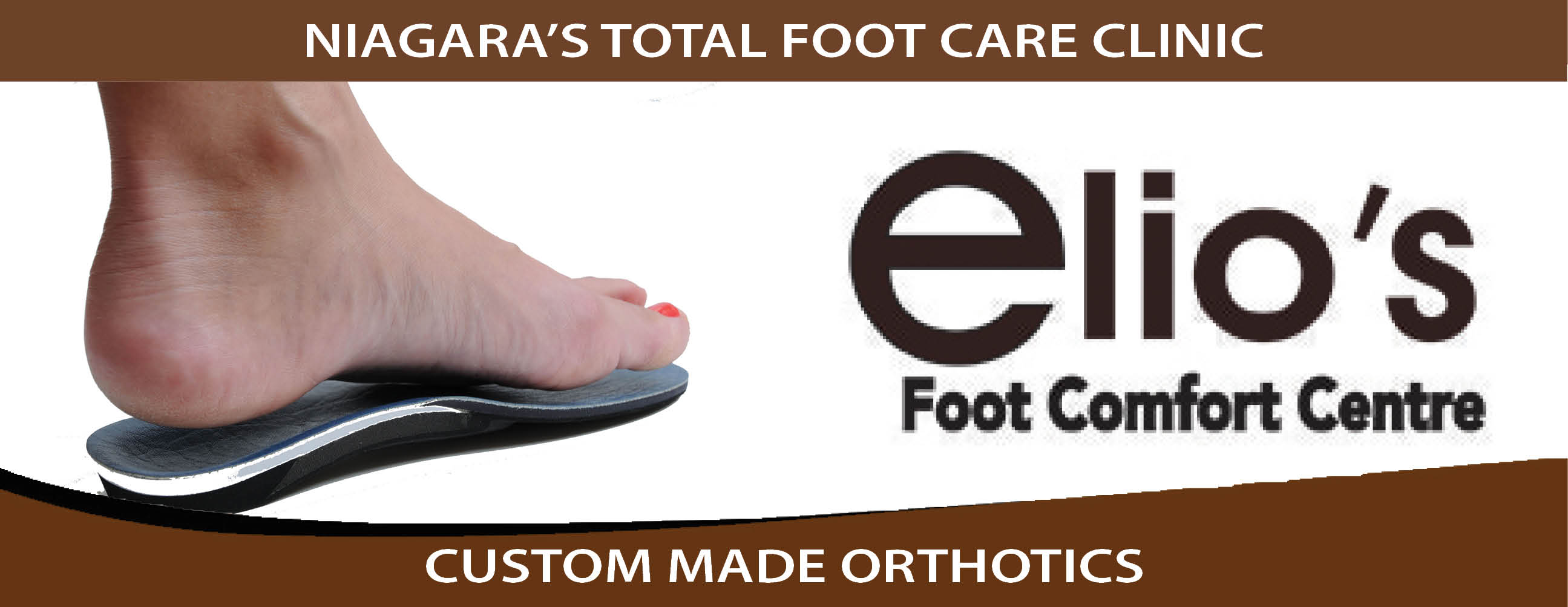 Custom Made Orthotics - Elio's Foot Comfort