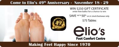 Elio's 49th anniversary event