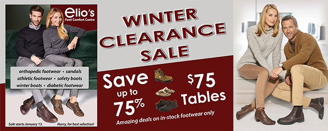 winter clearance sale 2020 elios