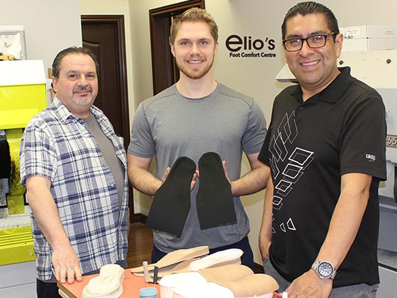 On Site Lab | Elio's Foot Comfort Centre