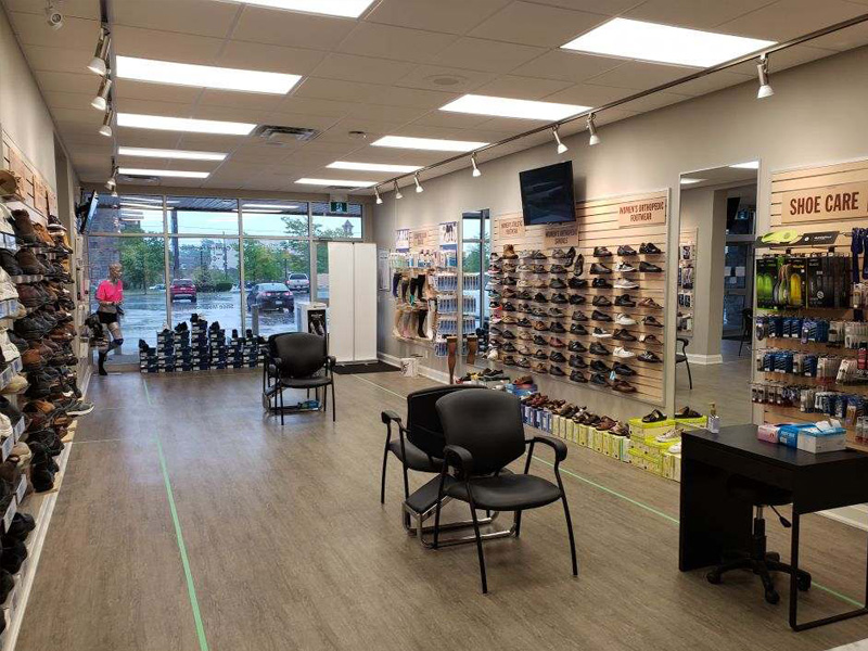 Retail Showroom Orthopedic Footwear | Elio's Foot Comfort Centre